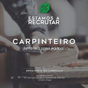 ADMITE-SE CARPINTEIRO